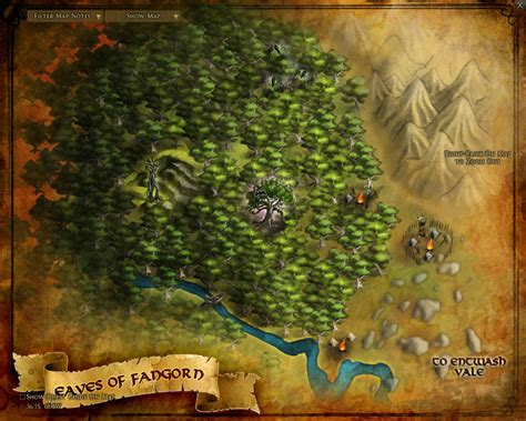 lord of rings map eaves of fangorn maps lord of the rings zam