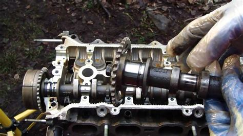Vvt I how to disassemble engine vvt i toyota part 16 31 camshafts