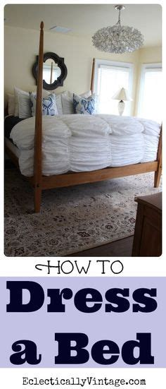 beds and such how to dress a bed such great tips and i love that chandelier eclecticallyvintage com