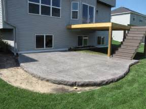 decorative concrete patios minneapolis sted concrete