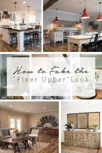 Joanna Gaines Home Design Ideas How To Fake The Fixer Upper Look 187 Colour Saturated Life