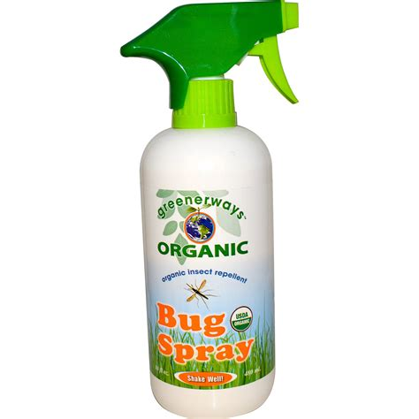 spray for bed bugs greenerways organic bug spray 16 fl oz 480 ml iherb com