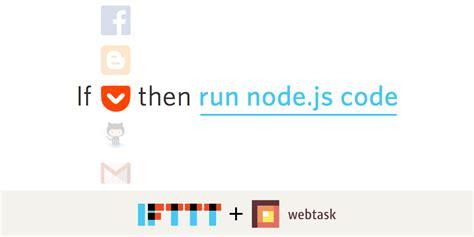 node js exports tutorial if this then node js