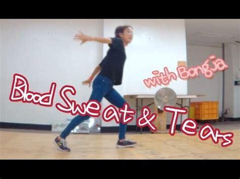 video dance tutorial kpop blood sweat tears by bts easy mirrored kpop dance
