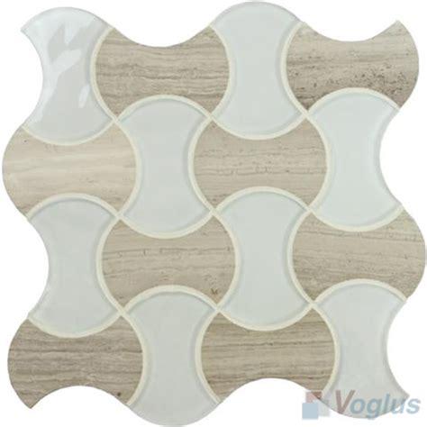 mosaic pattern bone bone shape glass mosaic voglus mosaic