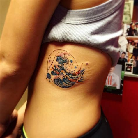 watercolor tattoo ta great wave kanagawa www pixshark images