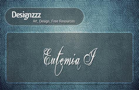 tattoo font eutemia 50 free cursive tattoo fonts for download