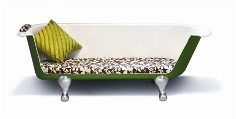 upcycling sofa upcycling chic the bathtub sofa apartment therapy