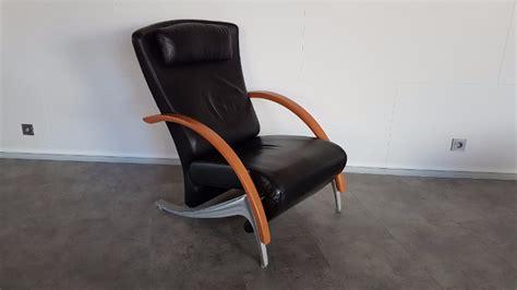 rolf benz 3100 relaxfauteuil zwarte leren relaxfauteuil van rolf benz model 3100