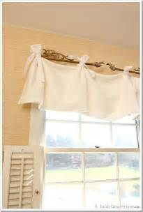 easy valance no sew window valance in my own style