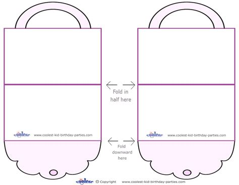 free printable templates 7 best images of free printable paper purse templates