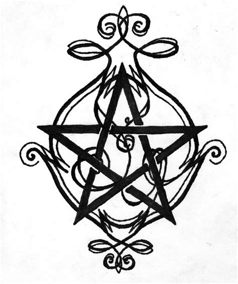 celtic pentagram drawing www imgkid com the image kid