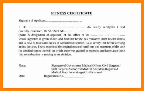 certification letter from doctor 8 certificate letter from the doctor new