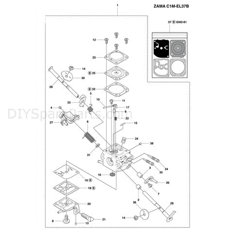 husqvarna 445 chainsaw parts diagram husqvarna 445e chainsaw 2011 parts diagram carburetor