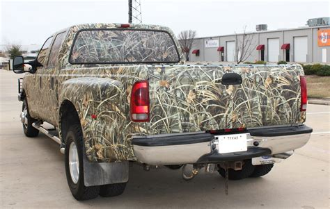 hunting truck for realtree camo truck wrap zilla wraps