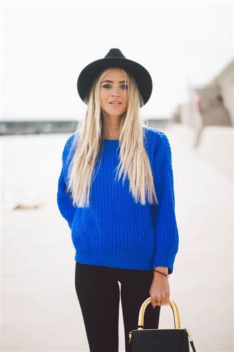 bright sweater outfit ideas  fall  winter