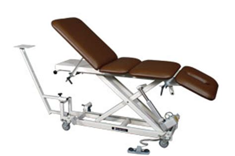 table upholstery for therapists dynatron t4x four section hi lo traction tables by dynatronics