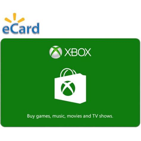 printable xbox gift card xbox digital gift card 10 email delivery walmart com