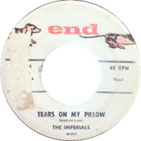 Anthony And The Imperials Tears On Pillow Lyrics by Tears On Pillow By The Imperials Daily Doo Wop
