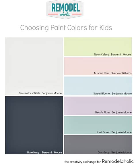paint colors for kid bedrooms remodelaholic tips for choosing paint colors for children s rooms