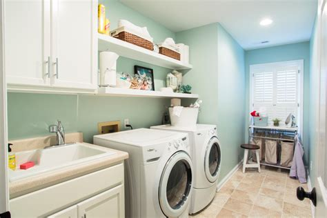 paint colors for laundry room laundry room traditional with stackable washer and dryer