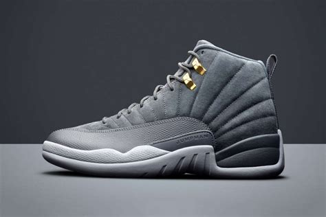 Air 12 Retro Grey air 12 retro quot wolf grey quot will be available soon