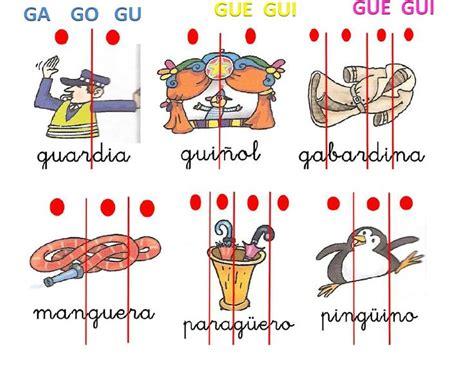 imagenes y palabras con la letra g palabras con g gu buscar con google year 2primero