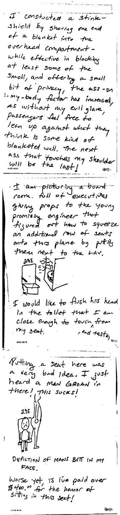 Airline Complaint Letter Seat 29e Pdf The Horror Of Seat 29e Broadsheet Ie