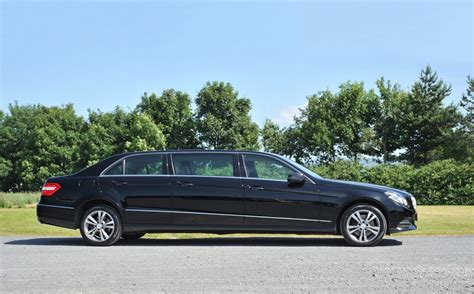 wedding car hire essex mercedes e class 7 seater limousine modern wedding car