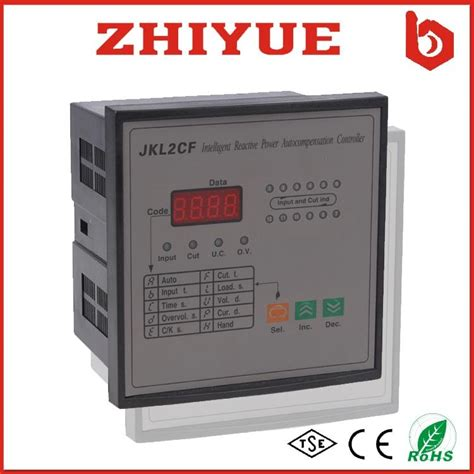 Power Factor Controller 380v jkwd 380v 12 step dynamic output reactive power compensation factor controller p zhiyue china