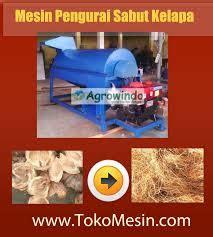 Harga Sabut Kelapa 2016 mesin pengurai sabut kelapa agrowindo agrowindo