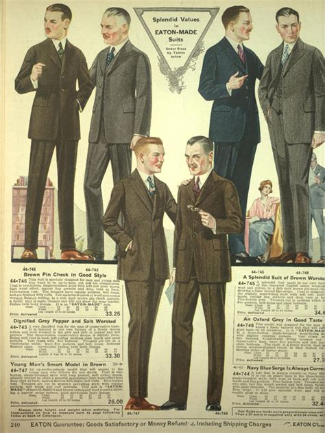 1920s fashion for boys