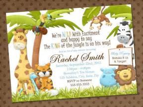 jungle safari zoo themed invitations safari zoo animal