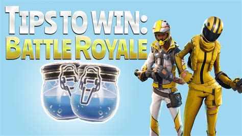 TIPS TO WIN! (Fortnite Battle Royale)   YouTube