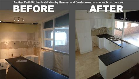Kitchen Installation by Hammer And Brush Perth Carpenter Perth Painter
