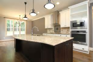 Curved Kitchen Islands Floor Master Home Forest New Homes Stanton Homes