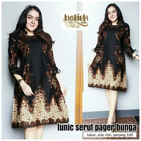 Dress Batik Shibori Tunik Batik tunik modern daftar harga terbaru terlengkap indonesia