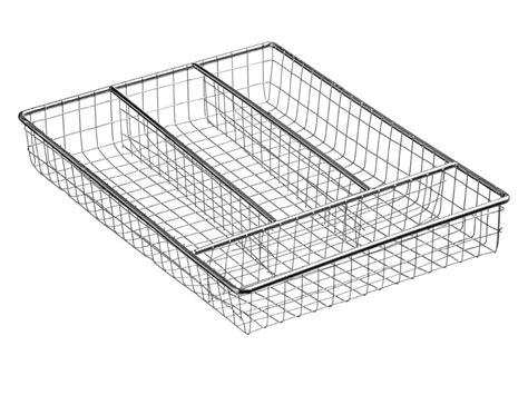 wire utensil drawer organizer brand new chrome wire small cutlery tray caddy kitchen