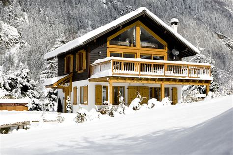 what is a chalet ski chalet in the chamonix valley france