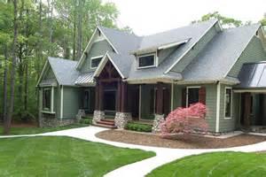 Donald A Gardner by The Cedar Ridge Plan 1125 D Craftsman Exterior