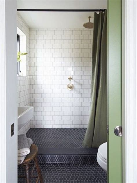 Subway Tile Bathroom With Wood Floors Amazing Tile Tiling A Bathroom Shower