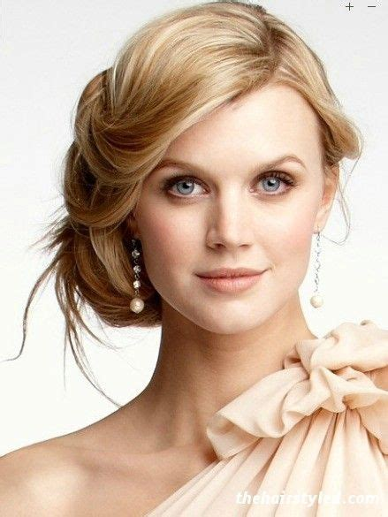 casual hairstyles wedding casual beach style wedding hair do low bun with side