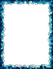 mosaik bordre mosaic border clip page border and vector graphics