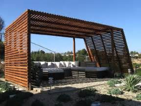 pergolas patios plexiglass fence modern fence design
