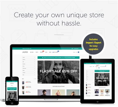 adding themes to shopify jasper sectioned drag drop shopify theme by srcn
