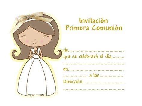 invitaciones primera comuni n tarjetas e invitaciones nuevas invitaciones de comuni 243 n para imprimir gratis
