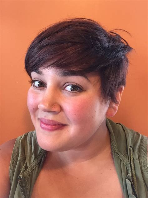 pixies on plus size women 43 best plus size short haircuts images on pinterest