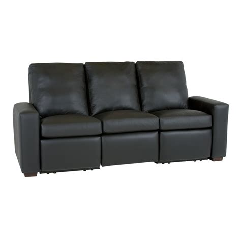 motorized sectional sofa classic leather 11768 mr metro motorized reclining sofa