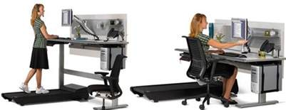 Standing Desk Vs Sitting Desk by Sit To Walkstation Treadmill Desk Sit Stand Or Walk