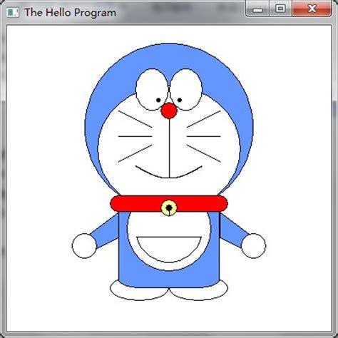 Doraemon Besar 82 48 windows程序设计画图实现哆啦a梦 懂客 dongcoder